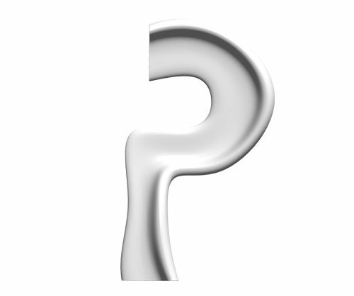 City Alphabet - litera P