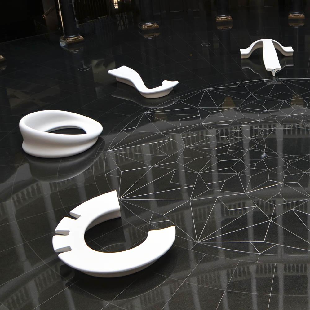 City Alphabet - meble miejskie i do galerii handlowych