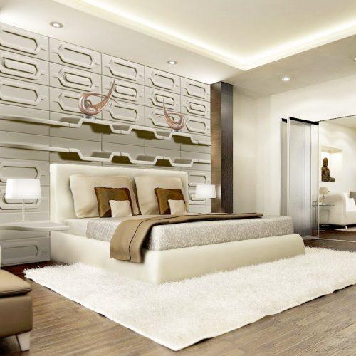 Ściana sypialni