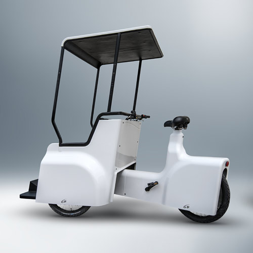Riksza Lotta - elektryczny ekologiczny pojazd miejski