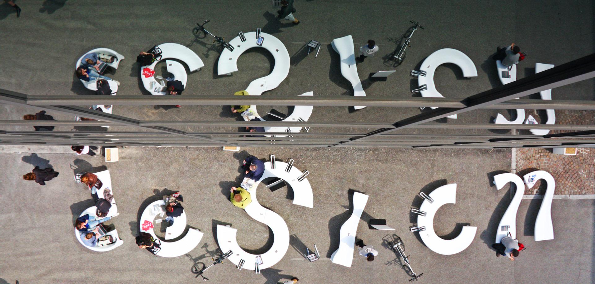 City Alphabet - miejskie meble parkowe
