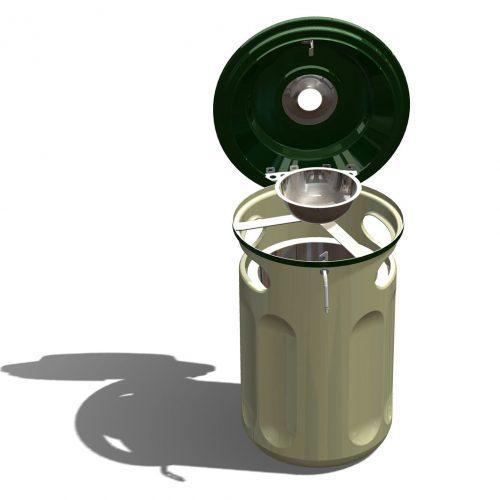 Bin made from laminates