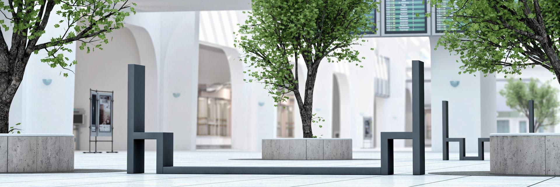 Meble Due - nowoczesne meble miejskie i dla galerii