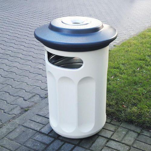 pojemnik / kosz na śmieci - trwały - plastikowy (laminat) - ładny