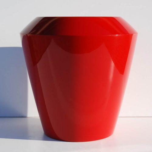 Donica ogrodowa ASCAN L czerwona Donice miejskie Donice do galerii handlowych
