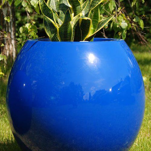 Donica ogrodowa ASMAN M niebieska
