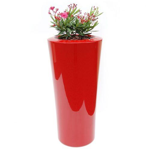 Donica ogrodowa ASPAR XXL czerwona Donice miejskie, Donice do galerii handlowych