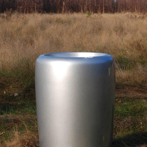 Donica ogrodowa ASTRAC L srebrna