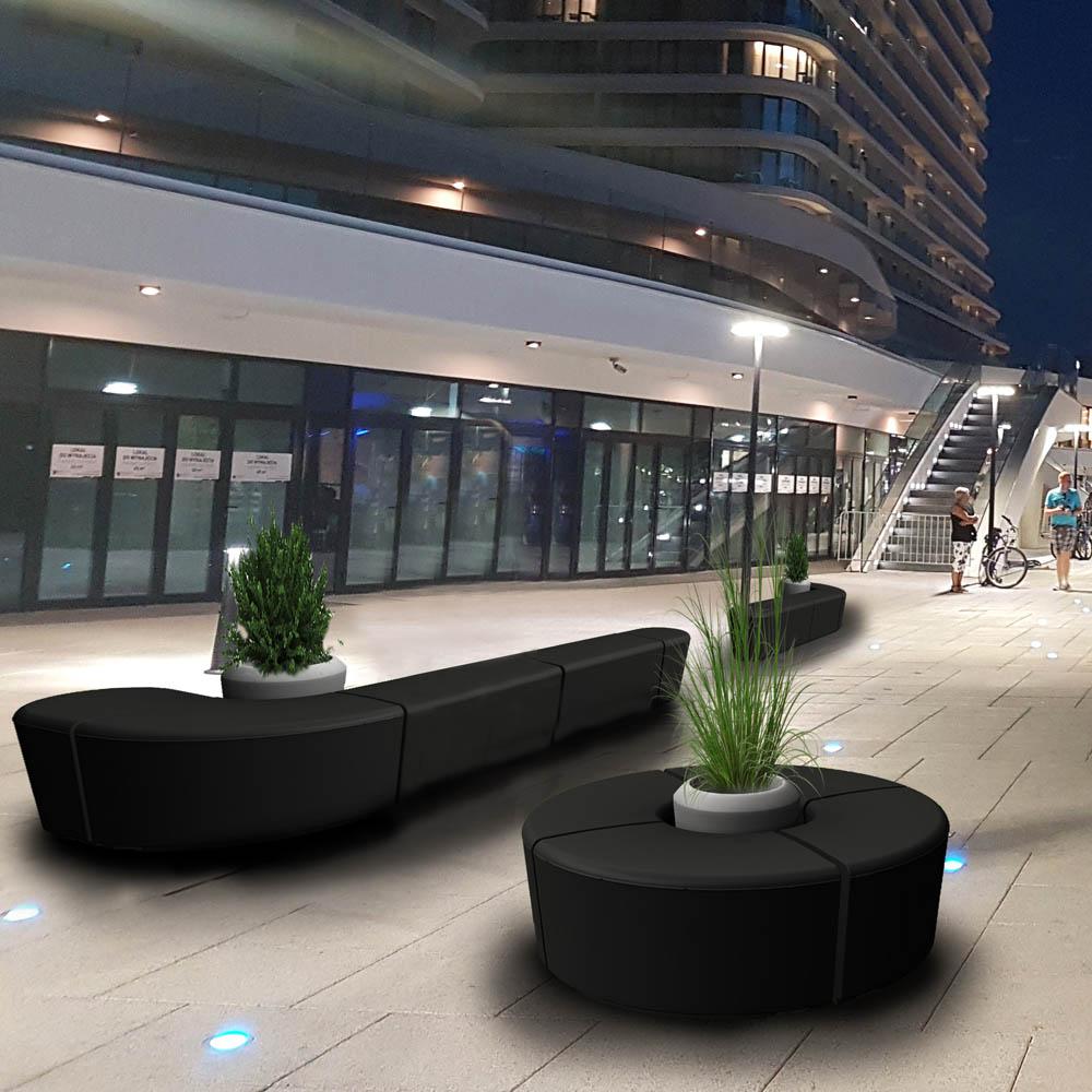 ławki Modullaro - modułowe meble miejskie