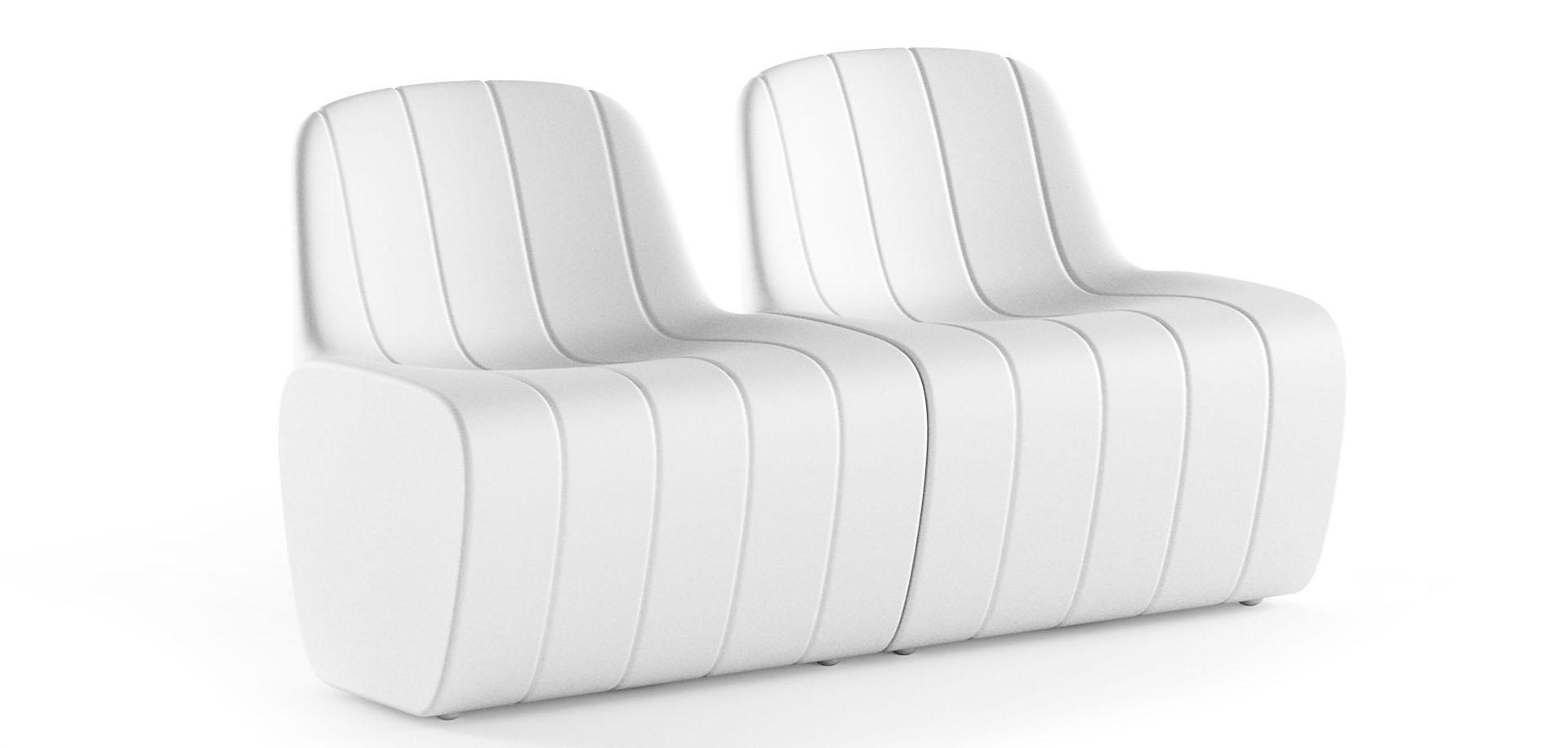 fotel podświetlany Albero