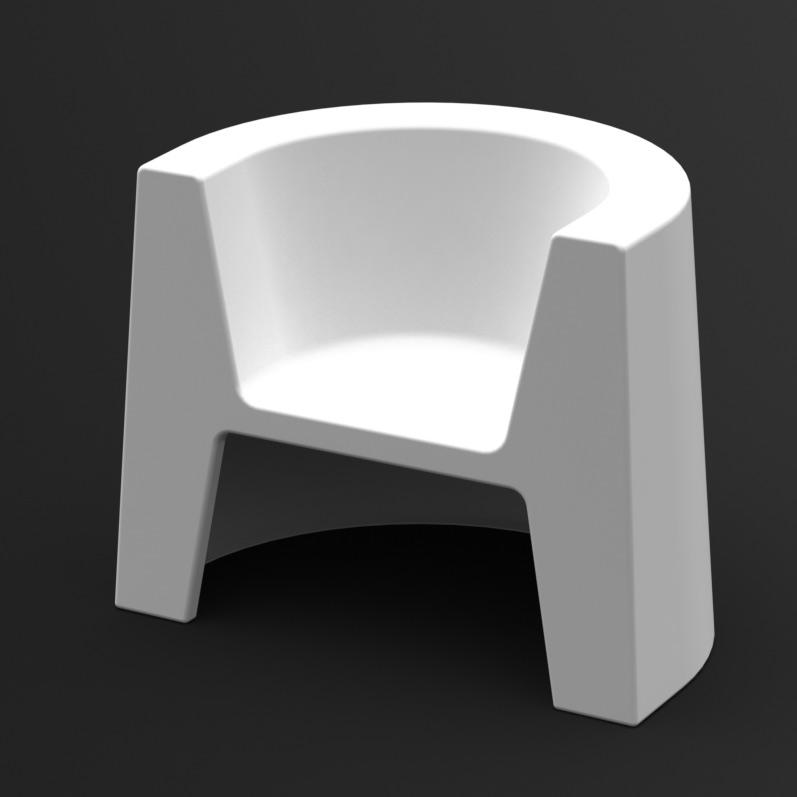 Fotel Modulo (biały)