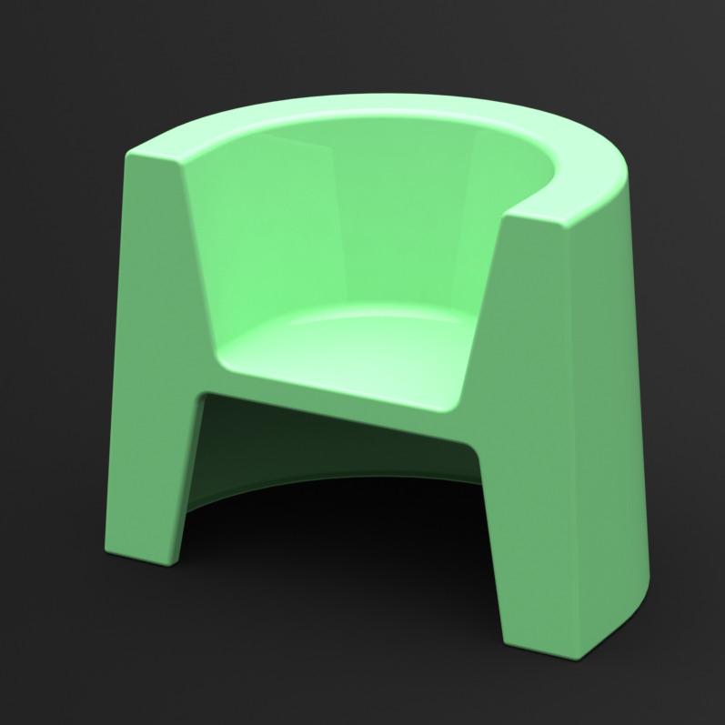 Fotel Modulo (zielony)