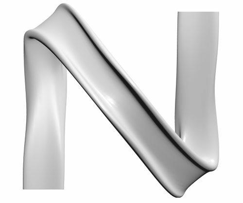 City Alphabet - letter N