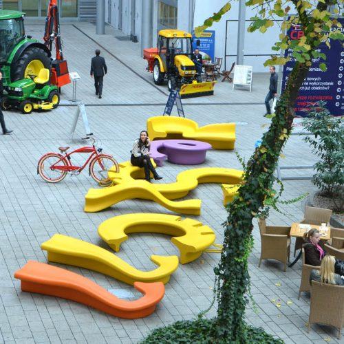 City Alphabet – urban furniture for parks