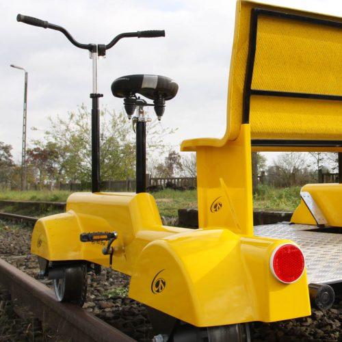 Nowoczesna drezyna kolejowa Bonita