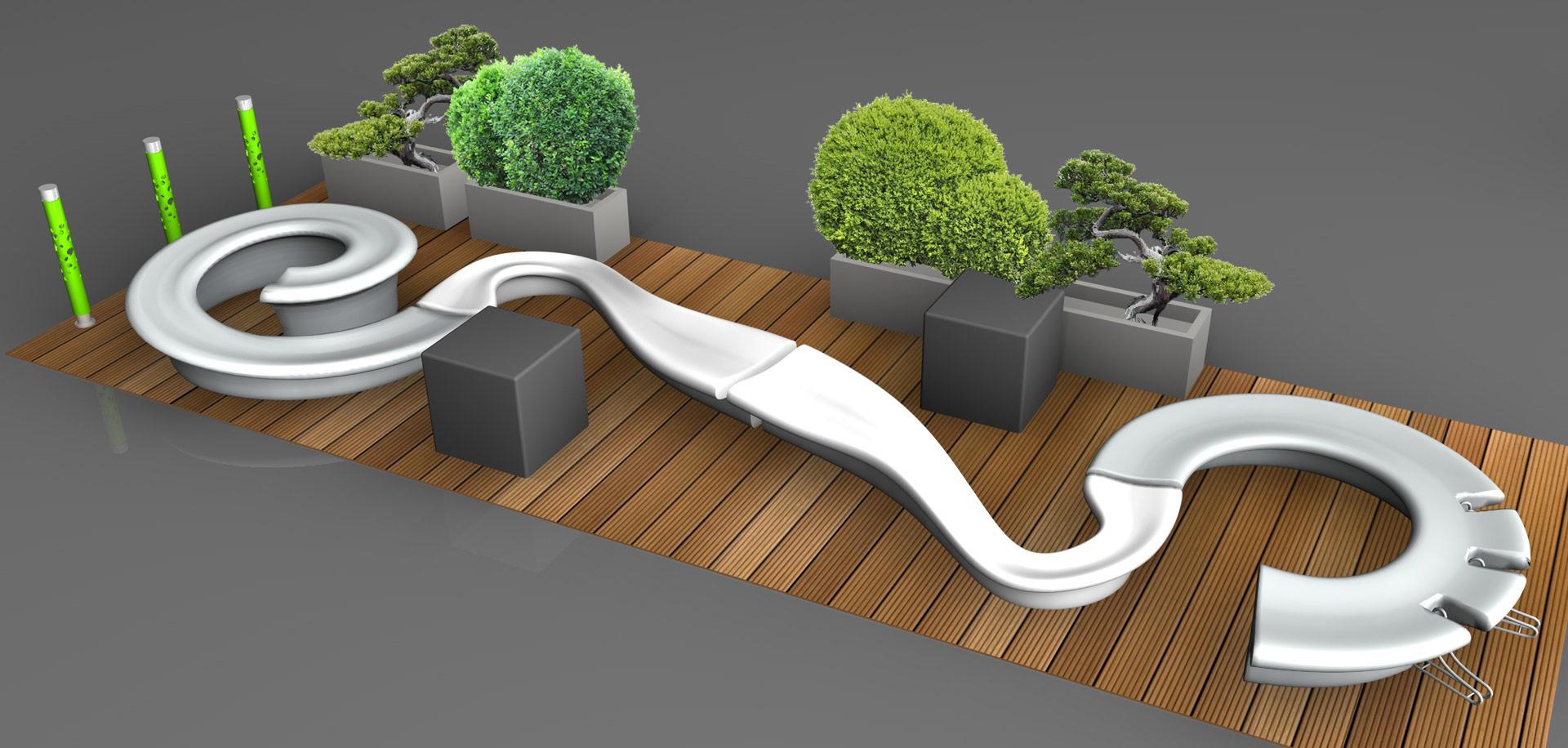 Parklet - nowoczesne meble parkowe