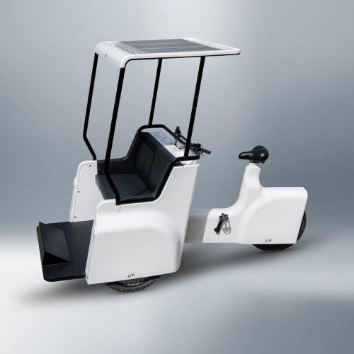 Lotta Rickshaw - ecological urban vehicle