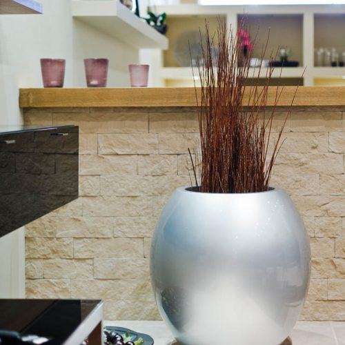 ASMAN L. Urban plant pot. Garden plant pot.