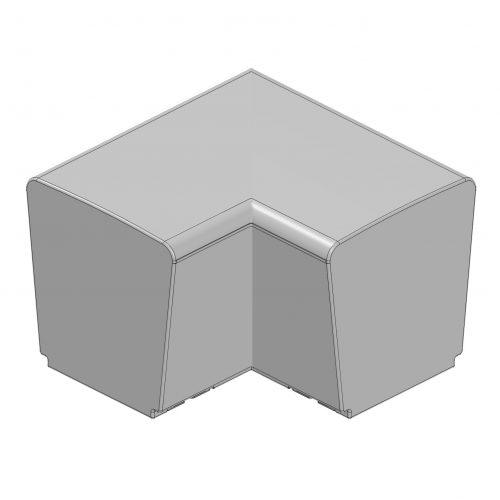 ławki Modullaro - modułowe meble miejskie meble miejskie meble do przestrzeni miejskich ławki