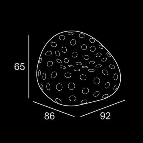 Folet Ilumini - wymiary
