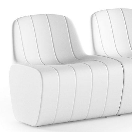 fotel podswietlany Albero