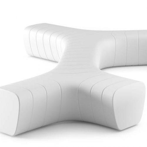 sofa / ławka podświetlana Albero