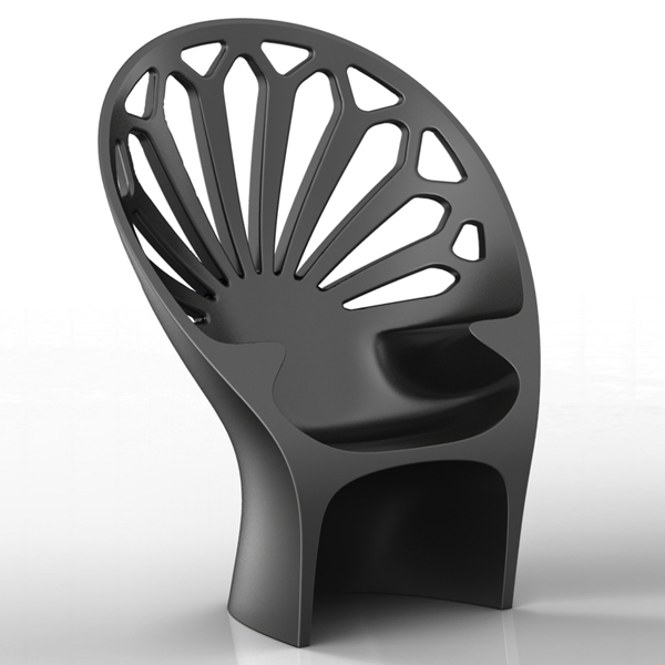 Fotel Altese (grafitowy)