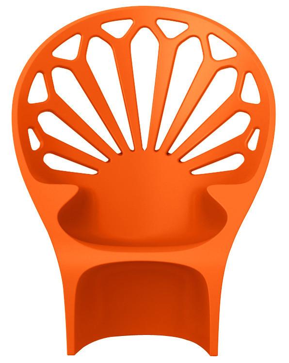 Fotel Altese (pomarańczowy)