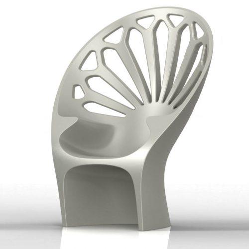Fotel Altese (w kolorze betonu)