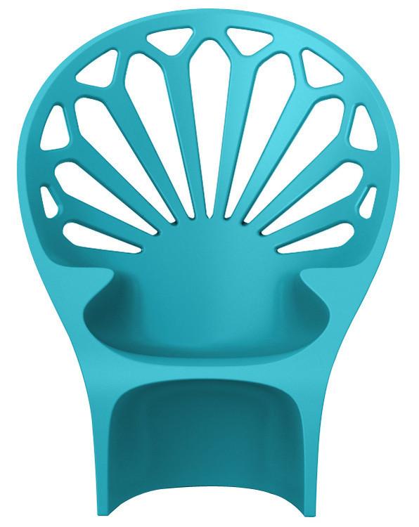Fotel Altese (niebieski)