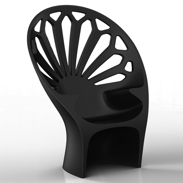 Fotel Altese (czarny)