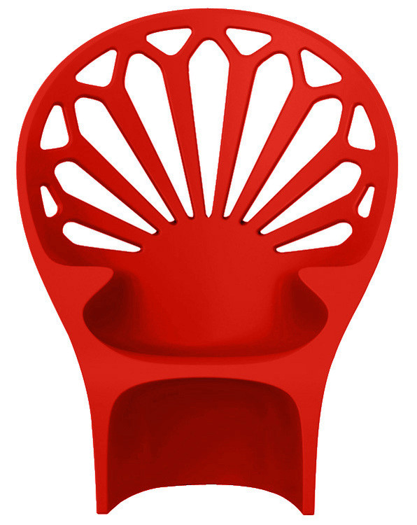 Fotel Altese (czerwony)