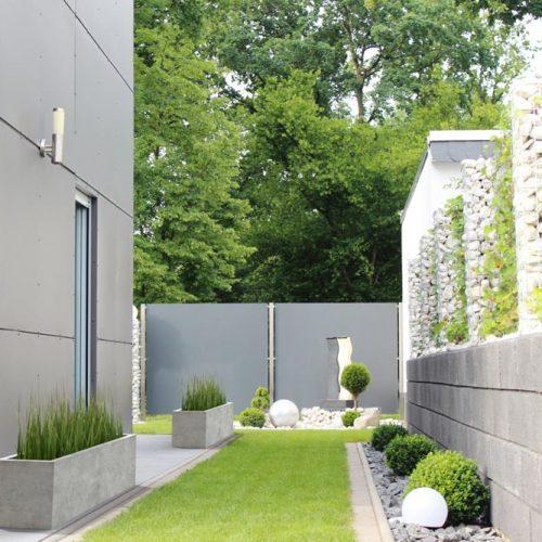 Donice betonowe z tworzywa