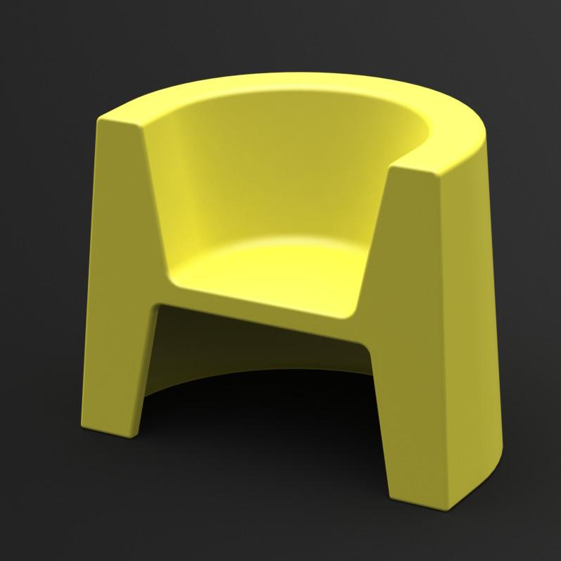 Fotel Modulo (żółty)