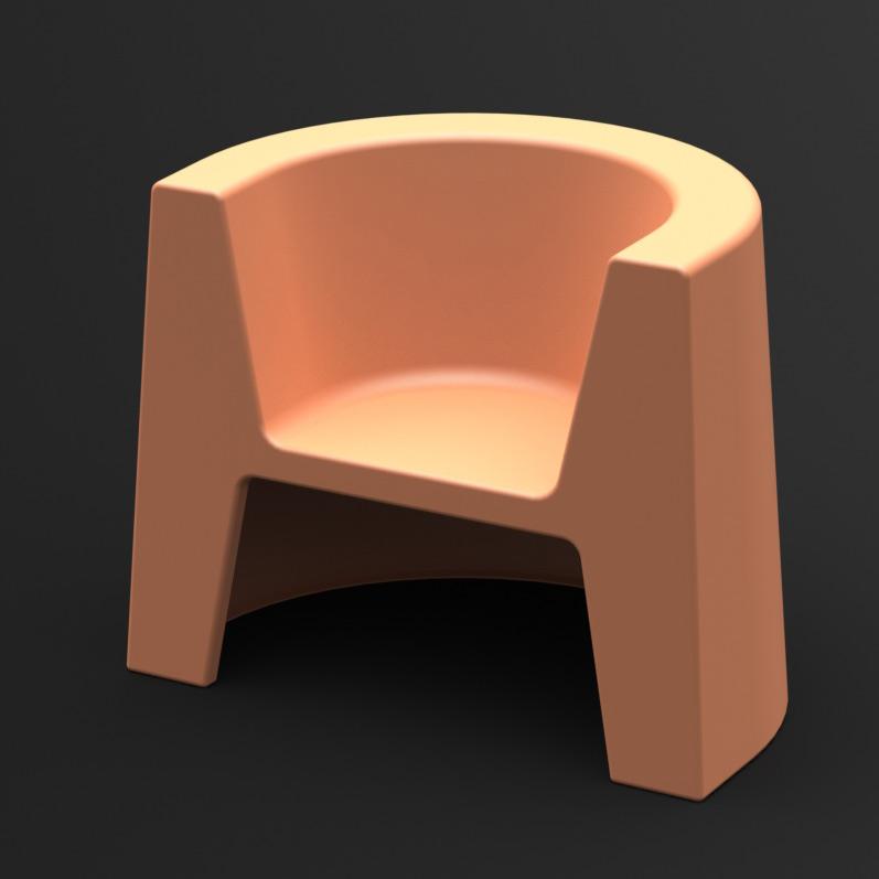 Fotel Modulo (kremowy)